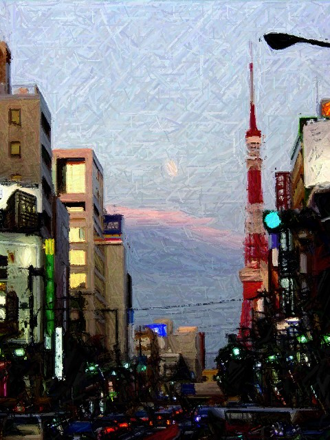 Roppongi, Tokyo Tower, Tokyo, Japan
