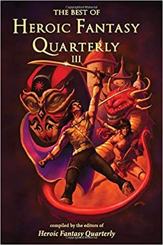Best of Heroic Fantasy Quarterly volume III cover SOLO